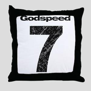 godspeed Throw Pillow