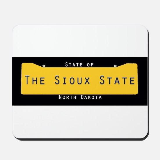 North Dakota Nickname #2 Mousepad