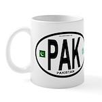 Pakistan Intl Oval Mug
