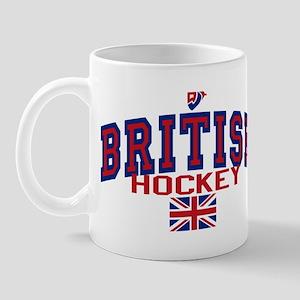 GB Great Britain Ice Hockey Mug