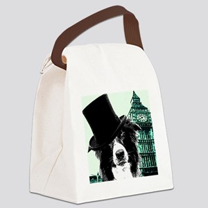 Dog about Town Canvas Lunch Bag