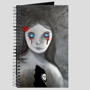 bleeding eyes empty soul gothic vintage ar Journal