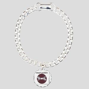 VINYL JUNKIE Charm Bracelet, One Charm