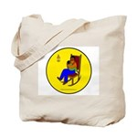 Father and Child Tote Bag