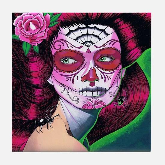Sugar Skull MP Tile Coaster