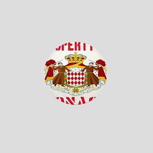 Property of Monaco Mini Button