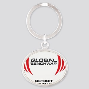 CanAm3 Oval Keychain