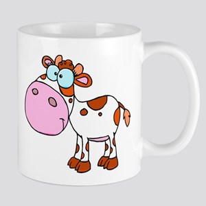 Cute Cartoon Cow Mug