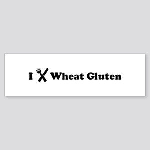 I Eat Wheat Gluten Bumper Sticker