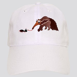 Anteater Meets His Lunch Cap