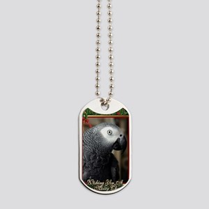 African Grey Parrot Dog Tags