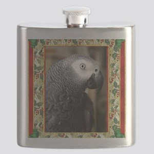 African Grey Parrot Flask