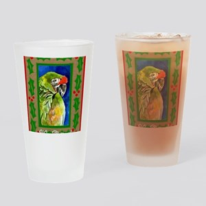 Military Macaw Drinking Glass