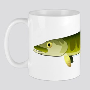Muskellunge Muskie pike fish ct Mug