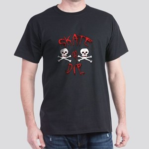 Skate or Die Skulls Dark T-Shirt