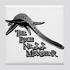 Nessie Grey Tile Coaster