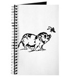 PotBelly Pig and Butterfly Journal