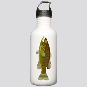 Smallmouth Bass v Stainless Water Bottle 1.0L