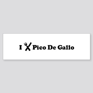 I Eat Pico De Gallo Bumper Sticker