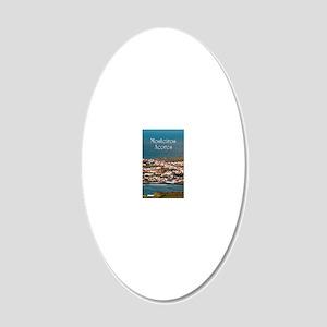 Coastal parish 20x12 Oval Wall Decal
