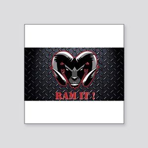 Ram It Diamond Plate Sticker