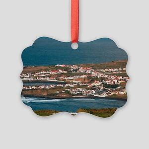 Coastal parish Picture Ornament