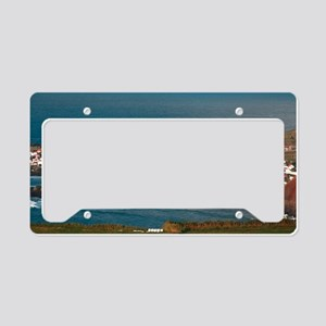 Coastal parish License Plate Holder