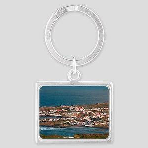 Coastal parish Landscape Keychain