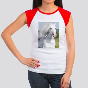 60x84_Curtain45 Women's Cap Sleeve T-Shirt