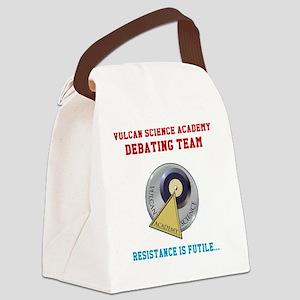 Vulcan Science Academy Debating T Canvas Lunch Bag