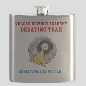 Vulcan Science Academy Debating Team Flask