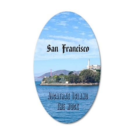 SanFrancisco_2.3665x4.598_iP 35x21 Oval Wall Decal