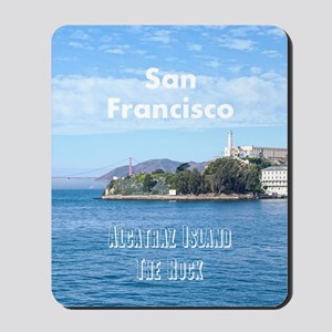 SanFrancisco_5.5x8.5_Journal_AlcatrazIsl Mousepad