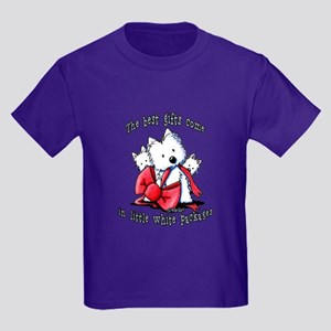 Westie Gift Kids Dark T-Shirt