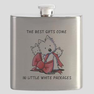 Westie Gift Flask