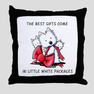 Westie Gift Throw Pillow