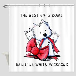 Westie Gift Shower Curtain