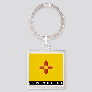 New Mexico State Flag Keychains