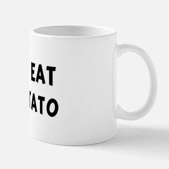 Men eat Sweet Potato Mug