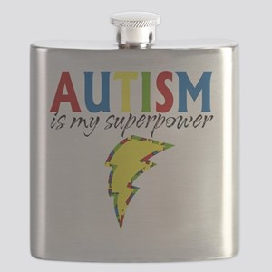 Autism is my Superpower Flask