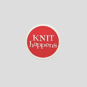 Knit Sassy - Knit Happens Mini Button