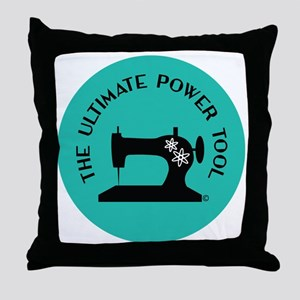 Sew Sassy - Ultimate Power Tool Throw Pillow