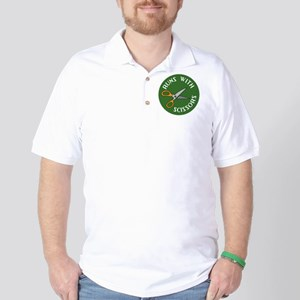 Sew Sassy - Runs With Scissors Golf Shirt