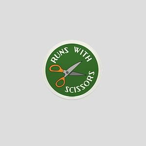 Sew Sassy - Runs With Scissors Mini Button