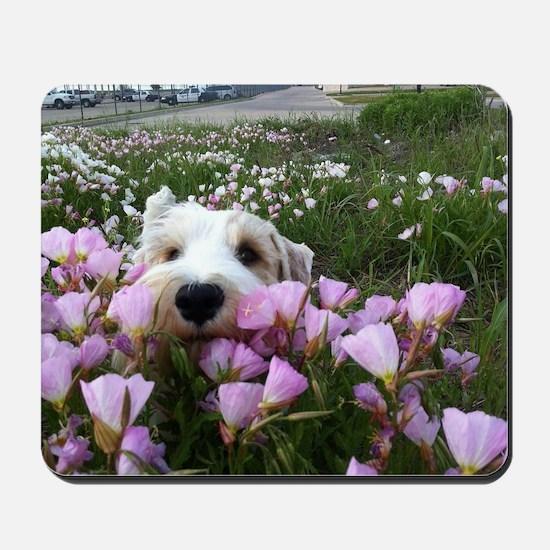flower dobby Mousepad