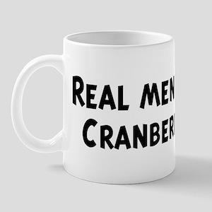 Men eat Cranberries Mug