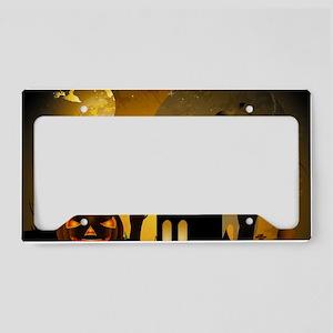 Helloween License Plate Holder