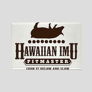 Hawaiian Imu Pitmaster Rectangle Magnet