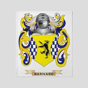 Barnard Coat of Arms Throw Blanket
