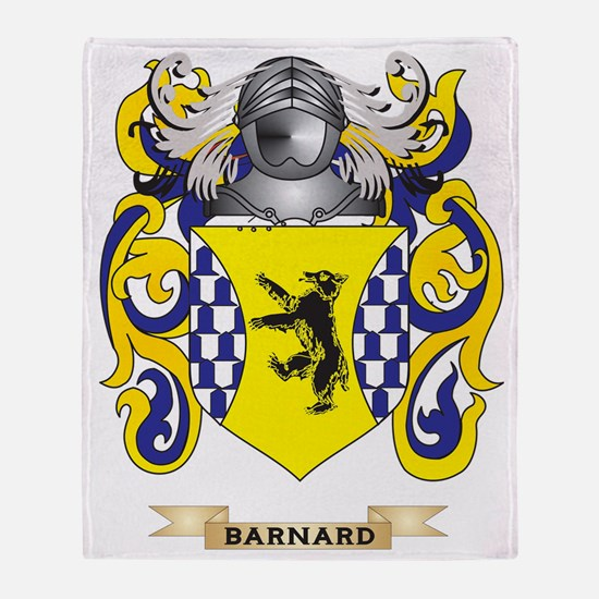 Barnard Coat of Arms Throw Blanket